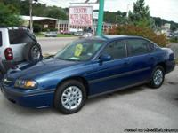2005 Chevy Impala Luxury Car with Family Room! This