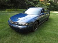 2005 CHEVY IMPALA. Blue Outside, Gray Inside, 154,000