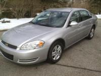 2006 CHEVY IMPALA LS. Silver Outside, Gray Inside,