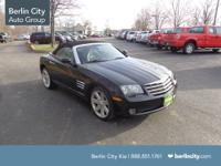 This 2005 Chrysler Crossfire is the Limited edition.