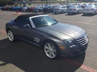 Fun and sporty! This 2005 Chrysler Crossfire Limited