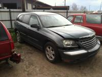 Parting out a 2005 Chrysler Pacifica Touring wagon FWD.