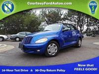 This PT Cruiser runs and drives well! The exterior is