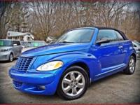 The Chrysler PT cruiser convertiable touring edition is