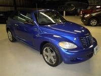 only 78K miles!!..PT CRUISER GT CONVERTIBLE: LEATHER