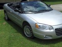 2005 Chrysler Sebring Convertible - Very good