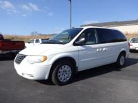 Exterior Color: white, Body: Mini Van, Engine: 3.3 6