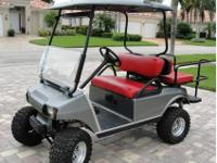 UP FOR SALE MY: 2005 CLUB CAR GOLF CART CART ONLY USED