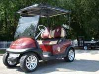 This golf cart is in great condition and looks great in