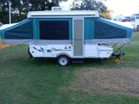 This is a very well kept 2005 coachman clipper popup