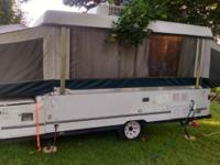 Great pop up trailer, Rooftop AC, 3 way refrigerator,