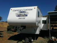 I have a 2005 Copper canyon 5th wheel, 28' with dining