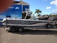 This 2005 Super Air Nautique HAS A COMPLETELY NEW