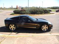 2005 corvette Z51 , V8, 6speed manual Black ext.
