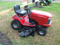 I am selling a 2005 Craftsman lawnmower. It is in good
