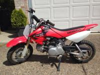 Selling our other 2005 CRF50. My boys have just
