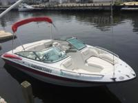 - Stock #062488 - This 2005 Crownline 202 bowrider is
