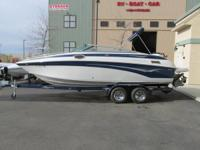 2005 Crownline 236 LS.   This is a super-clean,
