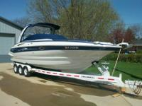 2005, Crownline 316, twin 300 hp, 350 c.i., Mercury I/O
