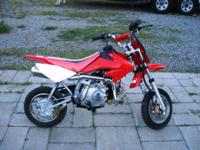 2005 Cub 50cc Mini-bike, Great starter bike, never