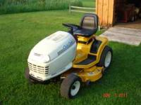 This is a Cub Cadet model GT2544 with a 20hp kohler two