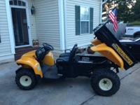 For Sale or trade   2005 Cub Cadet  BIG COUNTRY 4X2
