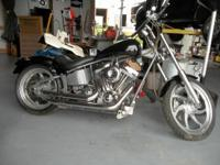 2005 Custom 113 Ultima Softail Super Sharp Looking
