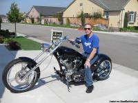 2005 Custom Big Inch Bike, Model,2-Lo-magnum, Lo miles,