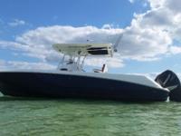 Custom 32' Boston Whaler Outrage! This former Mega