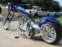 Hillbilly Engineering Frame.TP 124 chrome motor with