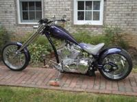 like new custom steed chopper ,STEED APPOLOLOSA ,it was
