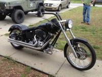 I have a 2005 Harley Davidson Fatboy Custom titled as a