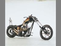 This customized chopper is truly one of a kind. Custom