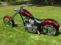 This is a 2005 Custom Thunderstruck Chopper, Built by