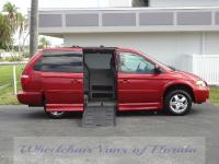 Lowered floor side entry wheelchair van conversion with
