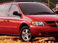 Grand Caravan SXT and 3.8L V6 OHV. Hurry in! Don't wait