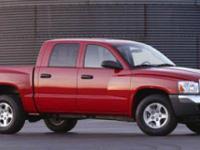 Options:  2005 Dodge Dakota Slt|Red/|V8 4.7L |122218