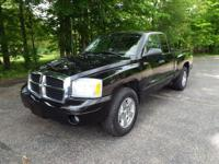The 2005 Dodge Dakota Club Cab 4x4 is excitingly