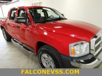 New Price! Clean CARFAX. Red 2005 Dodge Dakota SLT 131