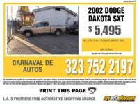Here Is A Super Dakota Extra Cab That Is Simply