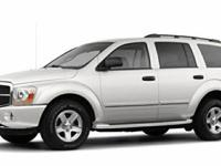 2005 Dodge Durango Limited, Miles: 142155Color: White,