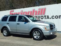 This 2005 Durango comes with a clean Carfax Report and