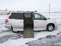 This is a 2005 Dodge Grand Handicap Caravan SXT.