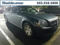 WOW!!! Check out this. 2005 Dodge Magnum SE Blue 2.7L