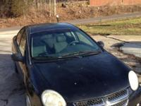 2005 Dodge Neon - Black - 4 doors - excellent gas