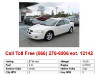 I am selling my Dodge Neon SXT with a salvaged title. I