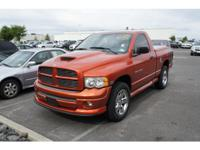 Exterior Color: orange, Body: Pickup Truck 4X4, Engine: