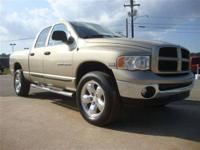 WE JUST GOT THIS 2005 DODGE RAM 1500 QUAD CAB SLT IN!!