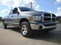 This 2005 Dodge Ram 1500 SLT 4x4 Truck features a 5.7L