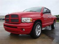 This 2005 Dodge Ram 1500 Truck features a 5.7L V8 SFI